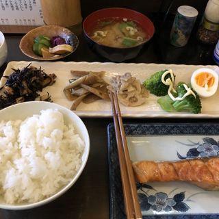 鮭定食(鳥眞 )
