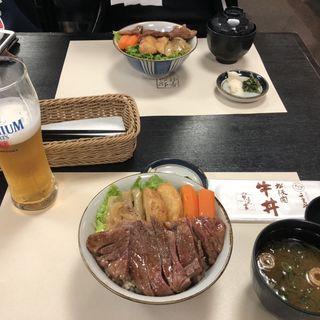 寶来亭ステーキ牛丼 松坂牛(二光堂 寶来亭)