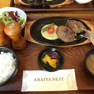 ハンバーグステーキ(アライヤ ネスト (ARAIYA NEST))