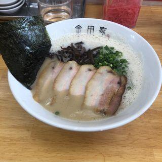 黒豚ラーメン(金田屋 本店)