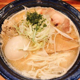 味玉ラーメン銀たら搾り(五ノ神水産 )