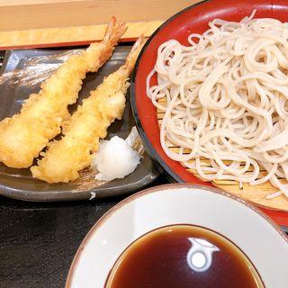 天ぷら蕎麦(小諸そば 西新橋店)
