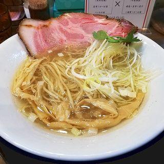 塩そば(中華そば 九兵衛 本店)