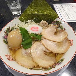 特製 鴨と蛤の中華そば(麺屋 至誠天)