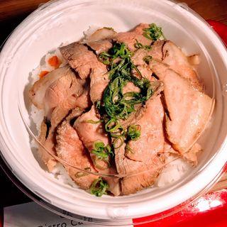 ローストビーフ丼(ウメチ (UMECHI))