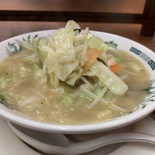 タンメン(日高屋 日野駅前店)