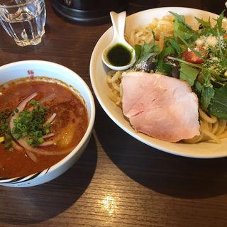 海老トマトつけ麺