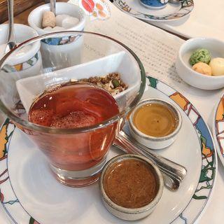 世界一の朝食(生コンフィチュールと栗の花のはちみつ)(イグレック )