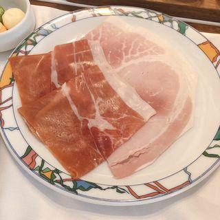 世界一の朝食(ジャンボン・ブランと生ハム)(イグレック )