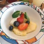 世界一の朝食(季節のフルーツ)