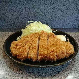 ロースカツ定食(とんかつひろき )