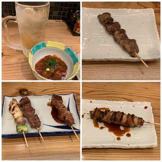 鶏寛晩酌セット(鶏寛 仙台店)