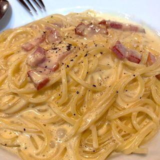 スパゲティ カルボナーラ(イタリア料理 カプリチョーザ イオン鈴鹿ベルシティ店 )