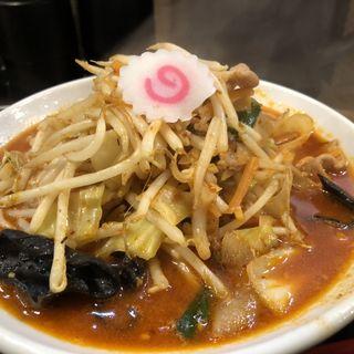 辛味噌タンメン(生姜醤油らーめんみずさわ川口店)