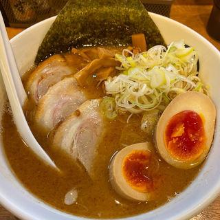 特製魚介鶏豚骨醤油らーめん(麺創 麺魂 )