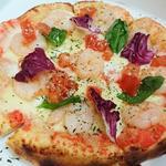 博多明太子のクリームピザ(トラットリア オルトレ )