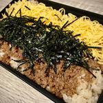 折尾風かしわ弁当(火曜日のお弁当)