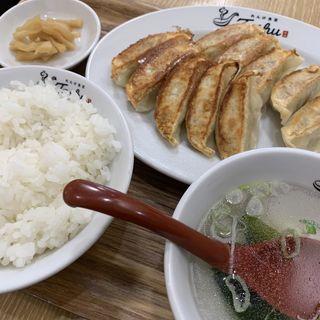 ランチ W餃子定食