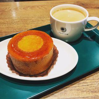 ブリュレ in バウム(プロント Tokyo City i CAFE店 (PRONTO))