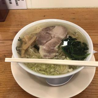天然塩らーめん(新宿めんや風花 本店 (しんじゅくめんやふうか))