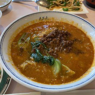 坦々麺定食(天外天)