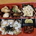 旬の弁当(水曜のお弁当)