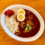 野菜・肉ゴロゴロ カレーライス(木曜日のお弁当)