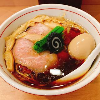 特製醤油らぁ麺(らぁ麺 くろ渦)