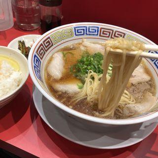 中華そばポーク(カドヤ食堂 クリスタ長堀店)