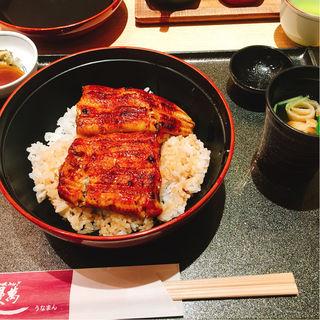 うな丼 竹(鰻萬 阪急うめだ本店)