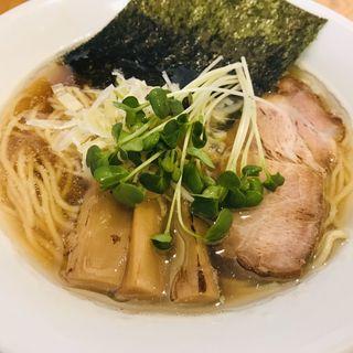 煮干中華そば醤油(中華そば スパンキー)