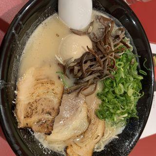 濃厚ラーメン(石田一龍 天満店)