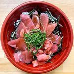 まぐろ丼(金曜日のお弁当)(まちカフェ あい)
