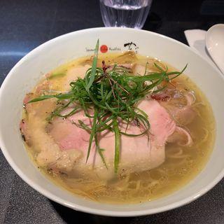 チャーシュー塩Soba(Japanese Soba Noodles 蔦)