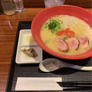 鶏煮干しらぁめん塩(麺や いま村)