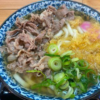 肉うどん(野口製麺所)