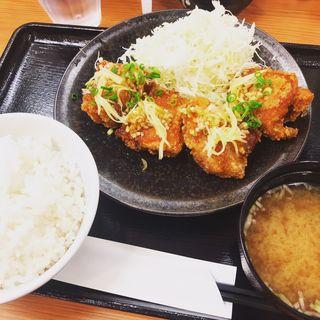 油淋鶏定食 4個(から好し 神田神保町店)
