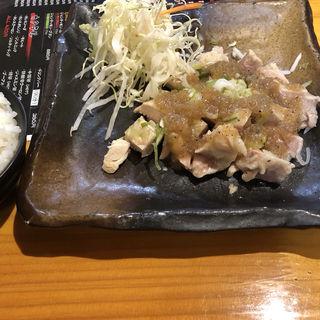 鶏のねぎ塩焼き(中華料理 福楽餃子坊 新生町店 )