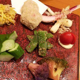 沖縄野菜7種盛り(Aticoco)