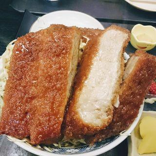 ソースかつ丼定食(いわ舟 )