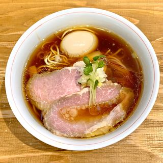 特製軍鶏そば(麺尊RAGE)