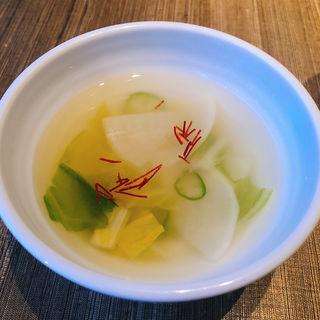 水キムチ(天壇 銀座店 (テンダン))