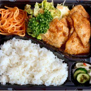 豚ロース生姜焼き弁当(キッチンハウス かや)