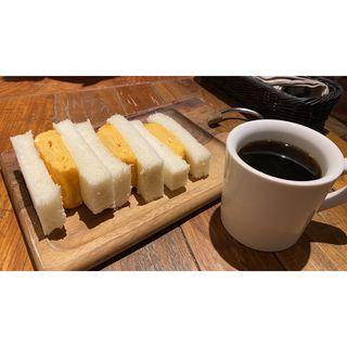 厚焼き玉子サンド(船橋珈琲焙煎所 )