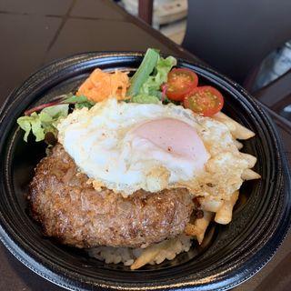 自家製アウバーグ丼( AUPA (アウパ))