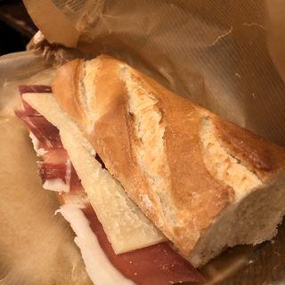 ハモンセラーノとチーズのサンド( AUPA (アウパ))