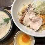 鶏すきやき風つけ麺