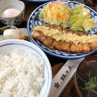 生姜焼き定食(鉢の木 )