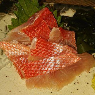 金目鯛の刺身(武屋食堂 広瀬通り店 )