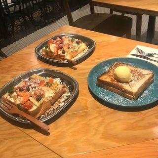 Fruits Open Sandwich(WORLD NEIGHBORS CAFE 清澄白河)